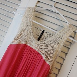 B*JEWEL crochet top tank - M